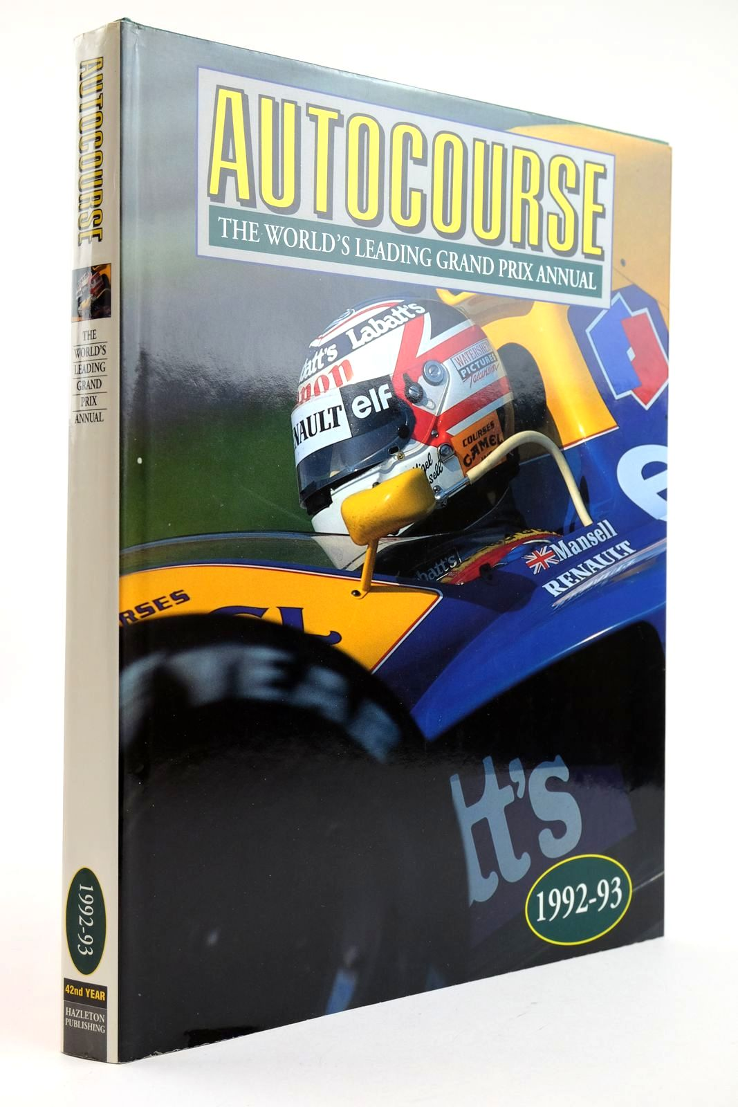 Photo of AUTOCOURSE 1992-93 published by Hazleton Publishing (STOCK CODE: 2132732)  for sale by Stella & Rose's Books