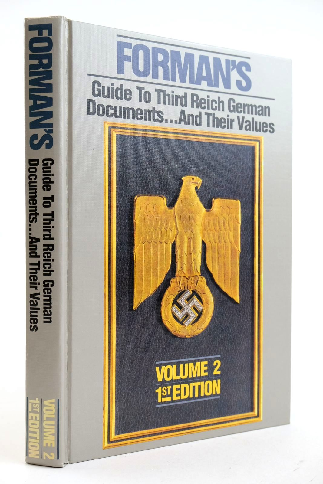 Photo of FORMAN'S GUIDE TO THIRD REICH GERMAN AWARDS... AND THEIR VALUES VOLUME 2- Stock Number: 2132737