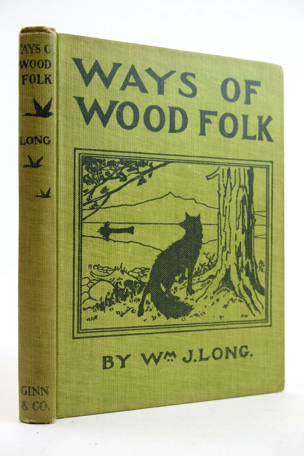 Photo of WAYS OF WOOD FOLK written by Long, William J. published by Ginn and Company (STOCK CODE: 2132749)  for sale by Stella & Rose's Books