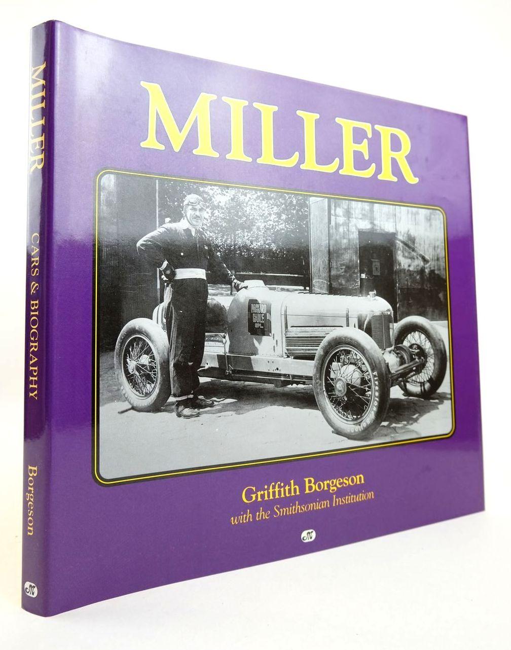 Photo of MILLER written by Borgeson, Griffith published by Motorbooks International (STOCK CODE: 2132768)  for sale by Stella & Rose's Books