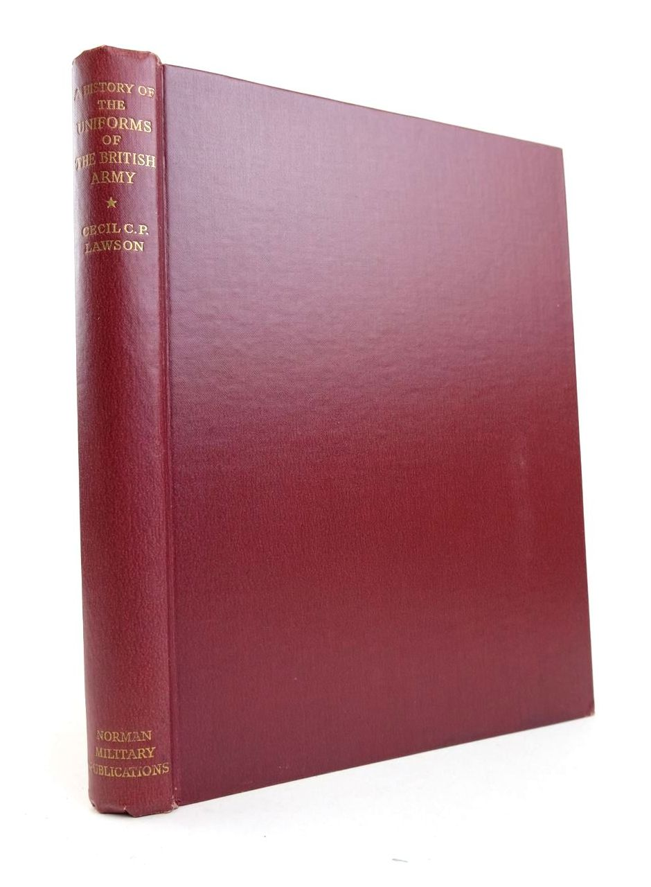Photo of A HISTORY OF THE UNIFORMS OF THE BRITISH ARMY VOLUME I written by Lawson, Cecil C.P. illustrated by Lawson, Cecil C.P. published by Norman Military Publications (STOCK CODE: 2132791)  for sale by Stella & Rose's Books