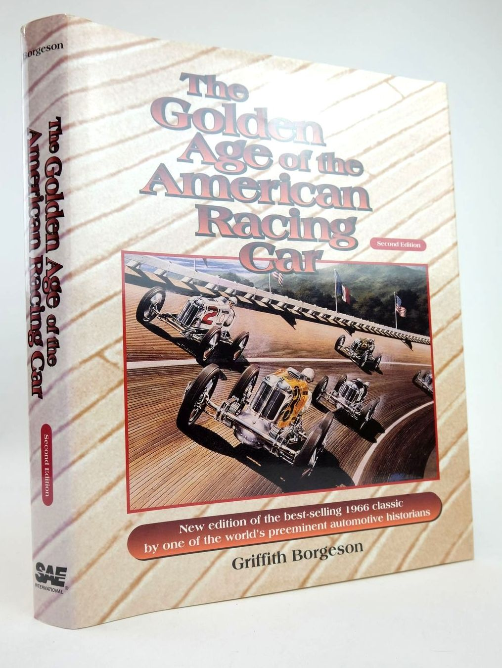 Photo of THE GOLDEN AGE OF THE AMERICAN RACING CAR written by Borgeson, Griffith published by Society Of Automotive Engineers (STOCK CODE: 2132817)  for sale by Stella & Rose's Books