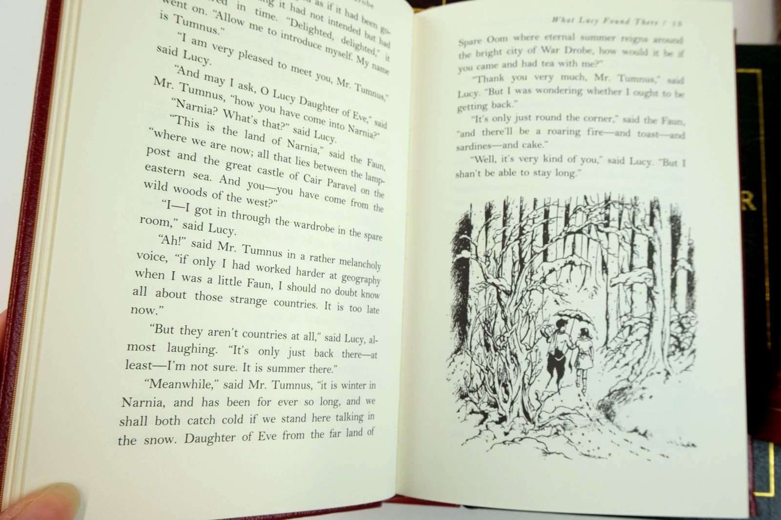 Photo of THE CHRONICLES OF NARNIA (7 VOLUMES) written by Lewis, C.S. illustrated by Baynes, Pauline Van Allsburg, Chris published by Easton Press (STOCK CODE: 2132829)  for sale by Stella & Rose's Books