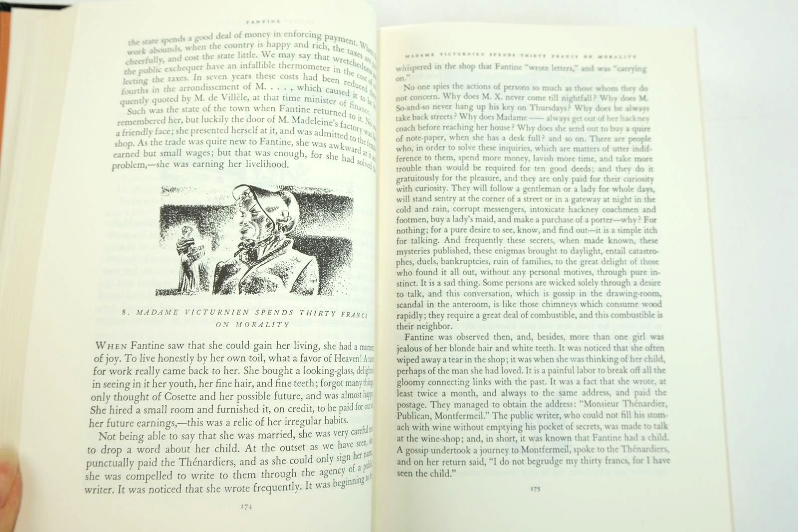 Photo of LES MISERABLES written by Hugo, Victor Maurois, Andre illustrated by Ward, Lynd published by Easton Press (STOCK CODE: 2132831)  for sale by Stella & Rose's Books