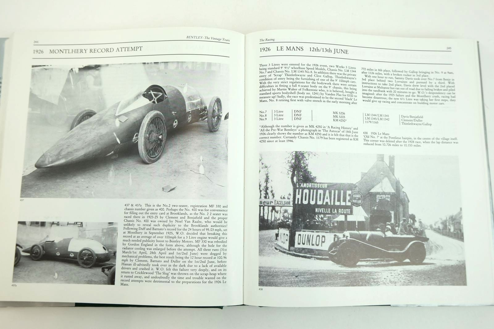 Photo of BENTLEY THE VINTAGE YEARS 1919-1931 written by Hay, Michael published by Dalton Watson (STOCK CODE: 2132846)  for sale by Stella & Rose's Books