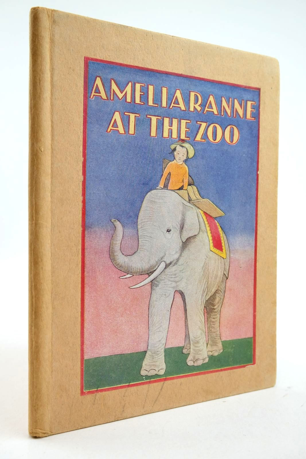 Photo of AMELIARANNE AT THE ZOO written by Thompson, K.L. illustrated by Pearse, S.B. published by George G. Harrap & Co. Ltd. (STOCK CODE: 2132861)  for sale by Stella & Rose's Books