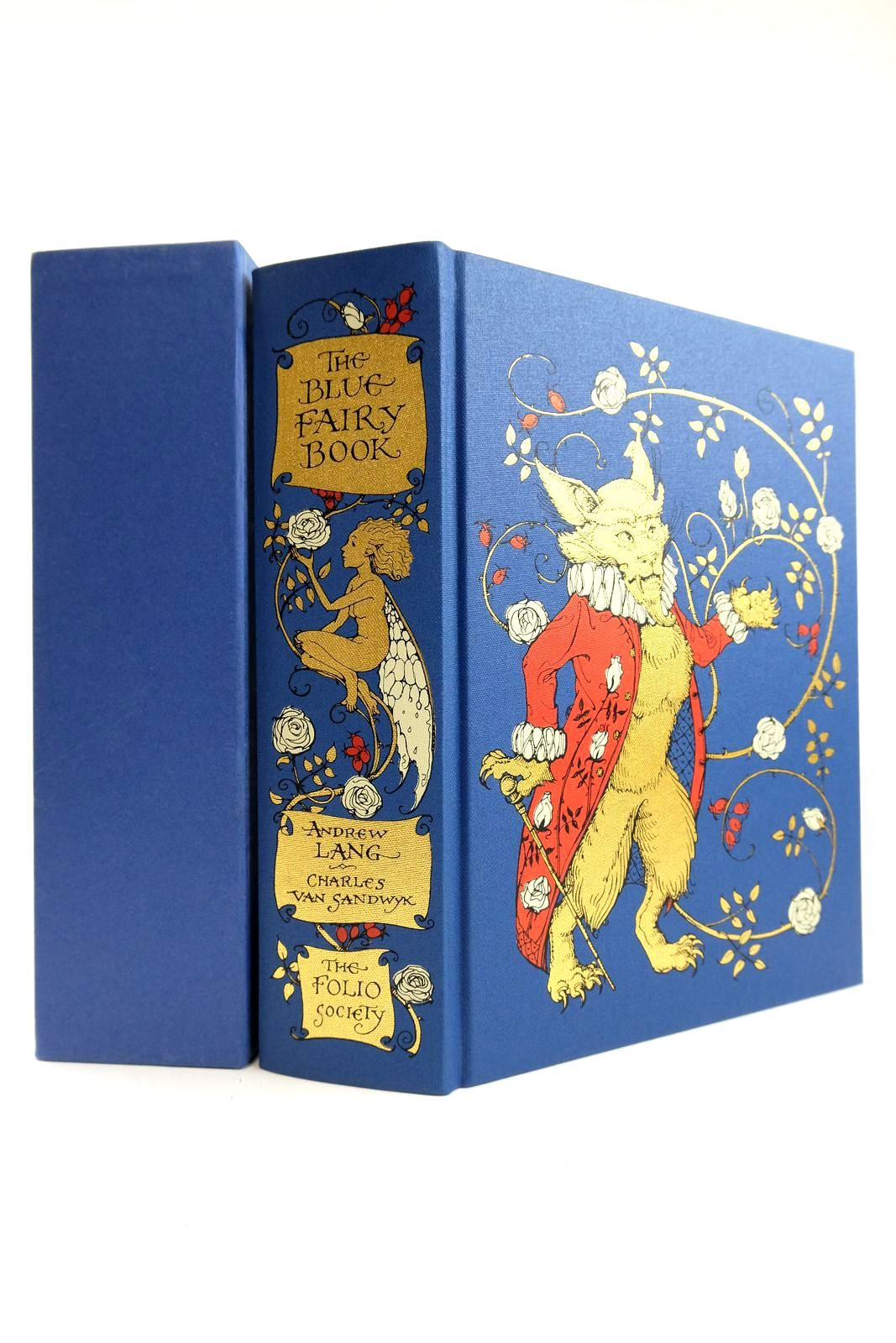 Photo of THE BLUE FAIRY BOOK written by Lang, Andrew Aiken, Joan illustrated by Van Sandwyk, Charles published by Folio Society (STOCK CODE: 2132901)  for sale by Stella & Rose's Books
