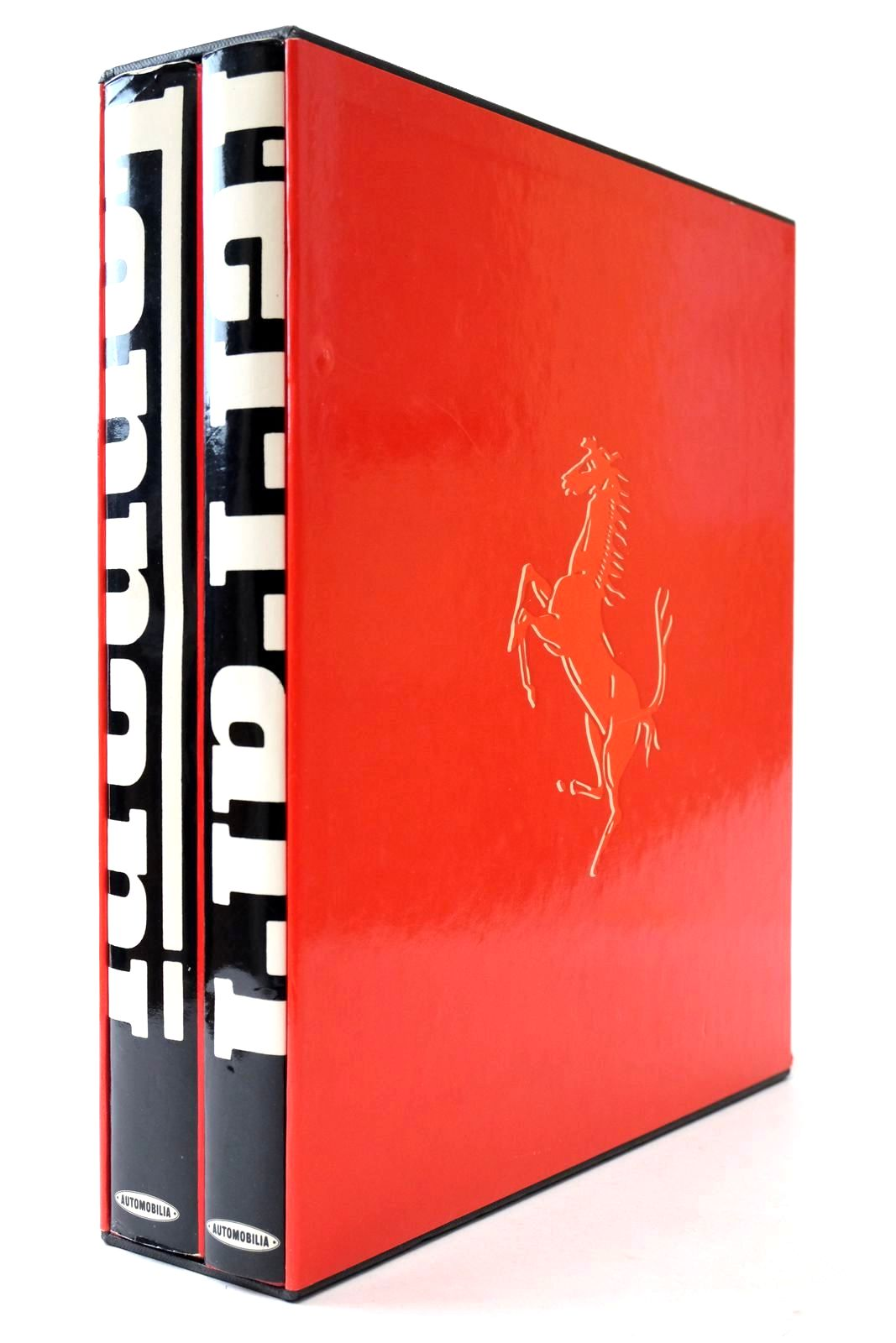 Photo of FERRARI CATALOGUE RAISONNE 1946-81 written by Costantino, Augusto published by Automobilia (STOCK CODE: 2132912)  for sale by Stella & Rose's Books