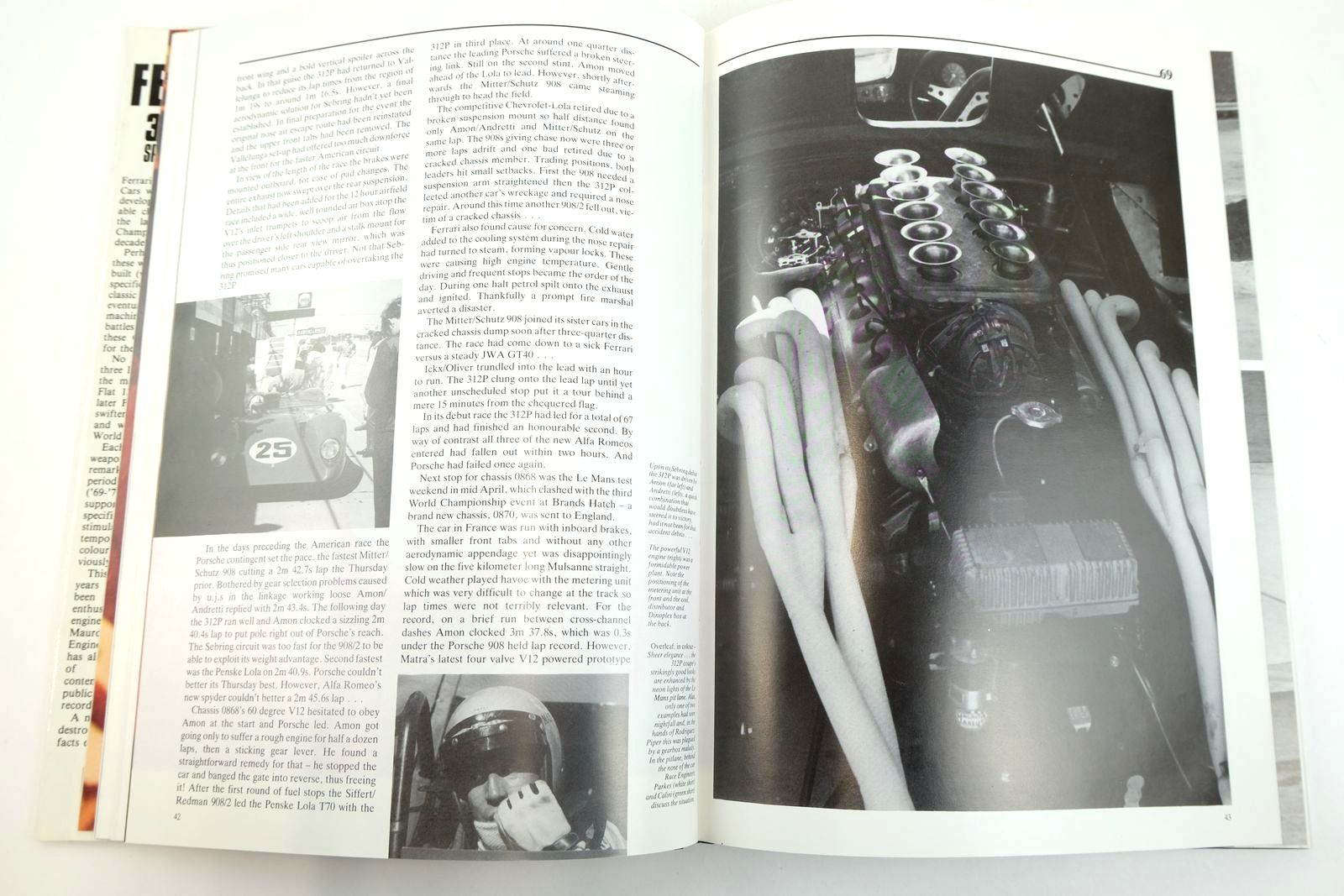 Photo of FERRARI 312 & 512 SPORTS RACING CARS THE PORSCHE HUNTERS written by Bamsey, Ian published by Haynes (STOCK CODE: 2132920)  for sale by Stella & Rose's Books