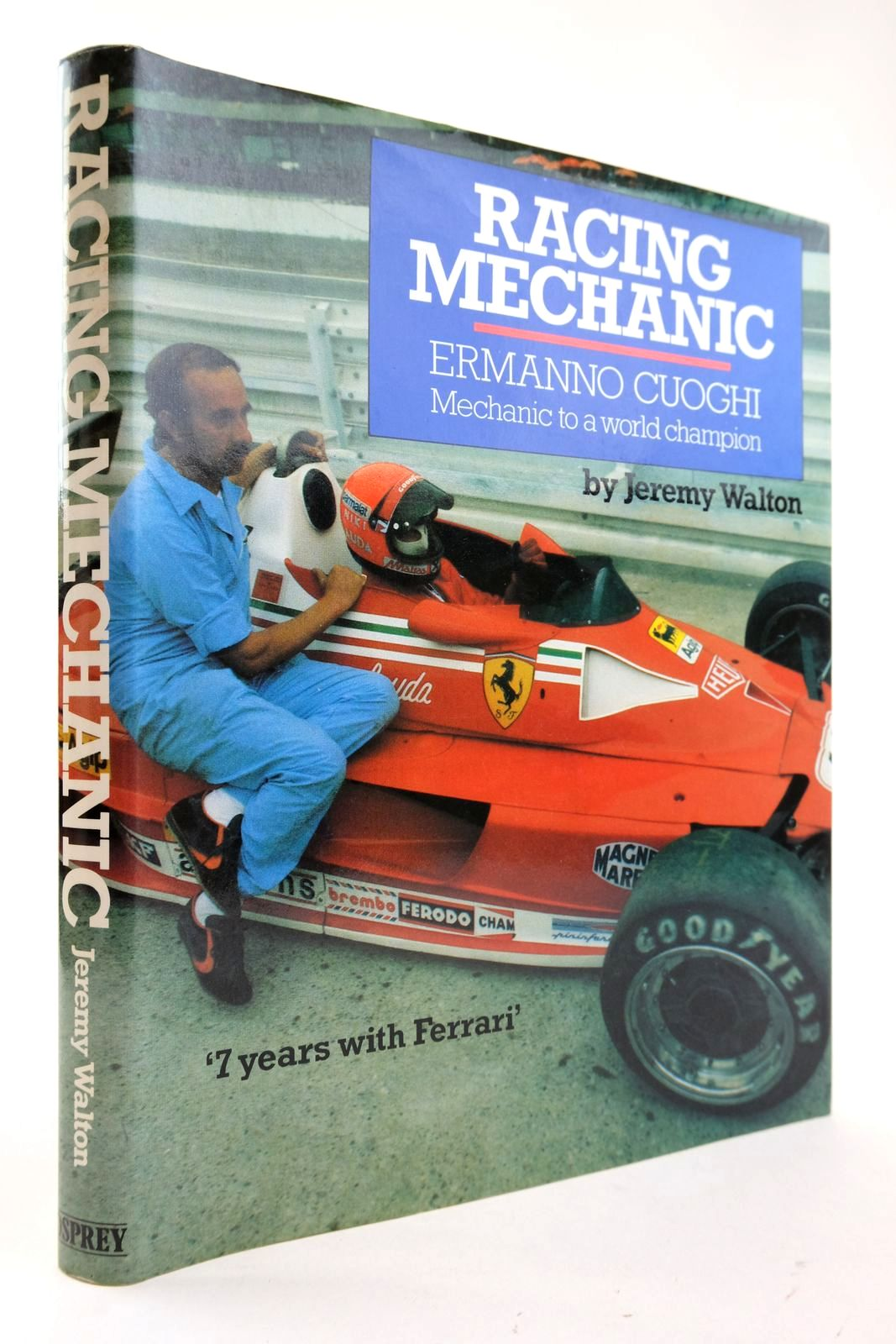 Photo of RACING MECHANIC ERMANNO CUOGHI MECHANIC TO A WORLD CHAMPION- Stock Number: 2132928