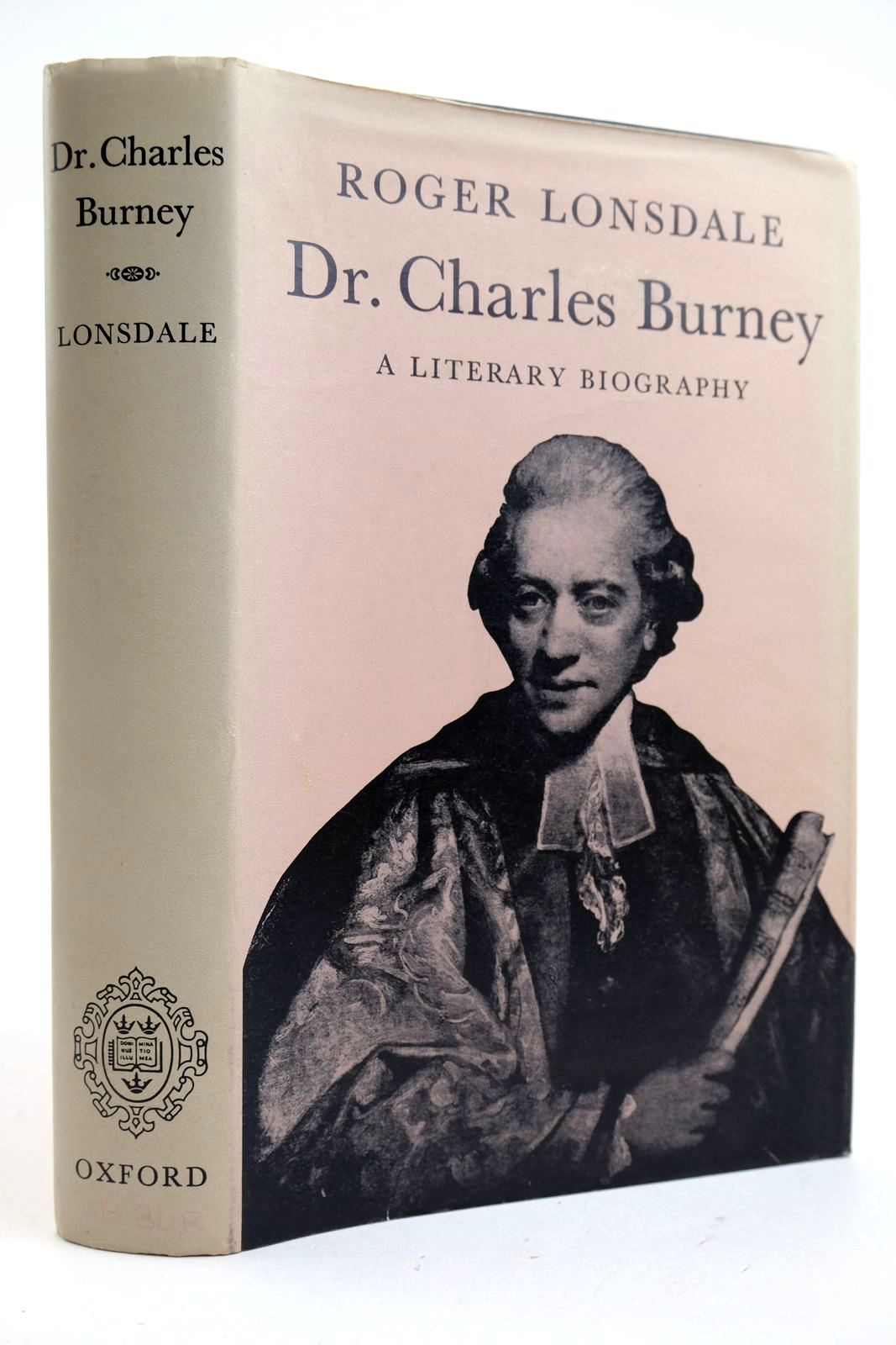 Photo of DR. CHARLES BURNEY A LITERARY BIOGRAPHY- Stock Number: 2132942