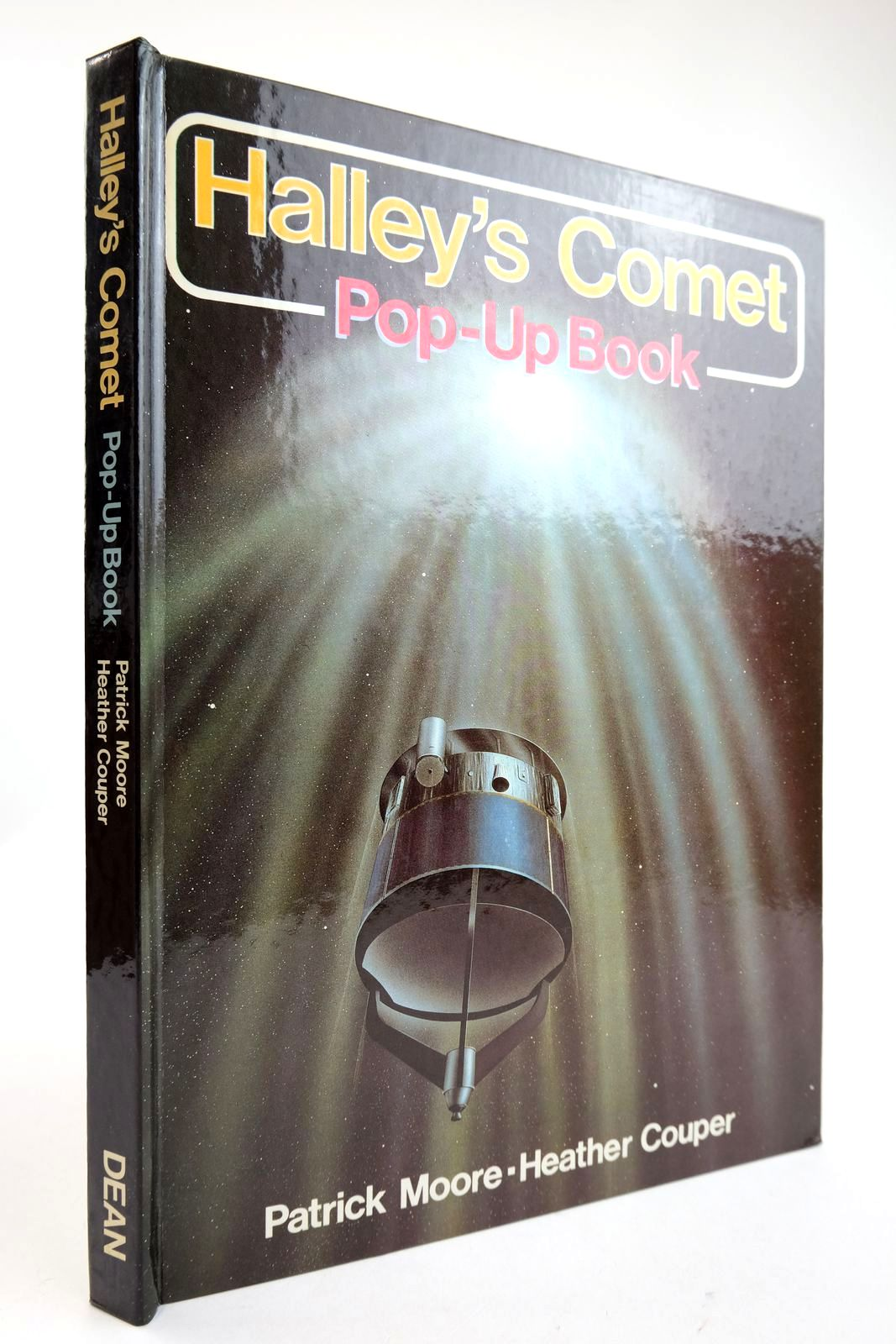 Photo of HALLEY'S COMET POP-UP BOOK written by Moore, Patrick Couper, Heather illustrated by Doherty, Paul published by Deans International Publishing (STOCK CODE: 2132952)  for sale by Stella & Rose's Books