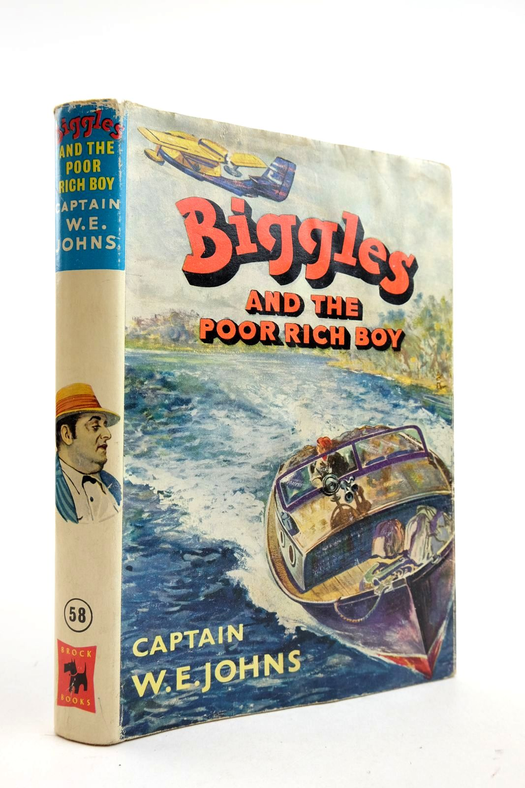 Photo of BIGGLES AND THE POOR RICH BOY written by Johns, W.E. illustrated by Stead, Leslie published by Brockhampton Press (STOCK CODE: 2133071)  for sale by Stella & Rose's Books