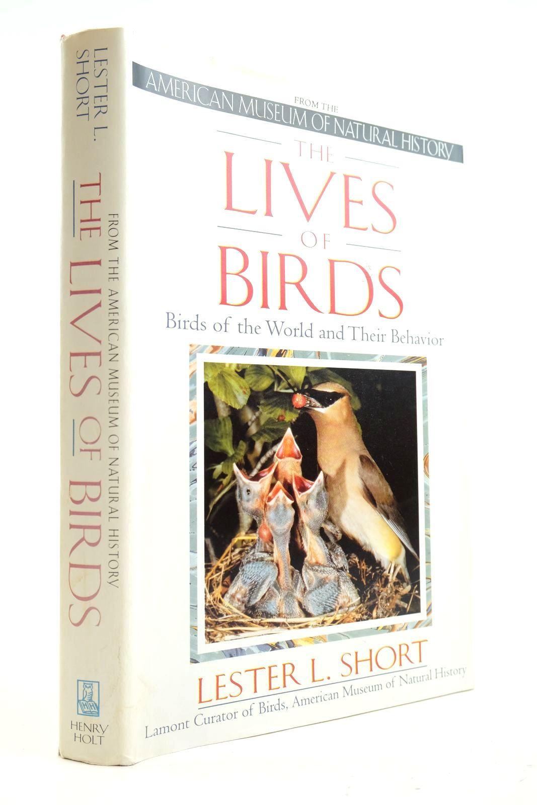 Photo of THE LIVES OF BIRDS BIRDS OF THE WORLD AND THEIR BEHAVIOR- Stock Number: 2133079