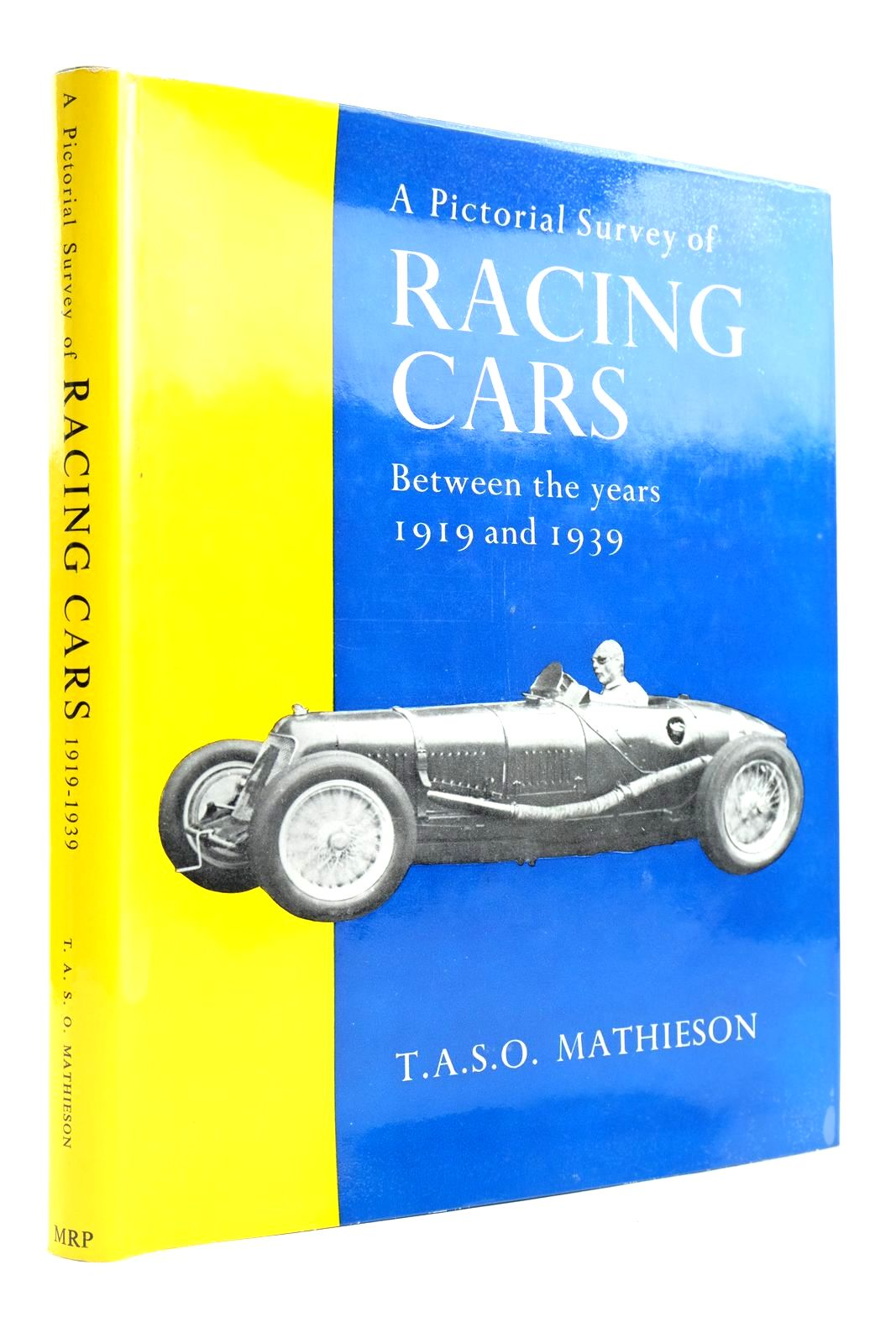Photo of A PICTORIAL SURVEY OF RACING CARS BETWEEN THE YEARS 1919 AND 1939- Stock Number: 2133091