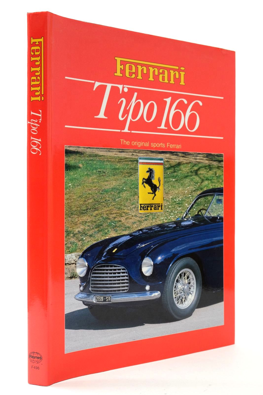 Photo of TIPO 166 THE ORIGINAL SPORTS FERRARI written by Anselmi, Angelo Tito published by Haynes Publishing Group (STOCK CODE: 2133104)  for sale by Stella & Rose's Books
