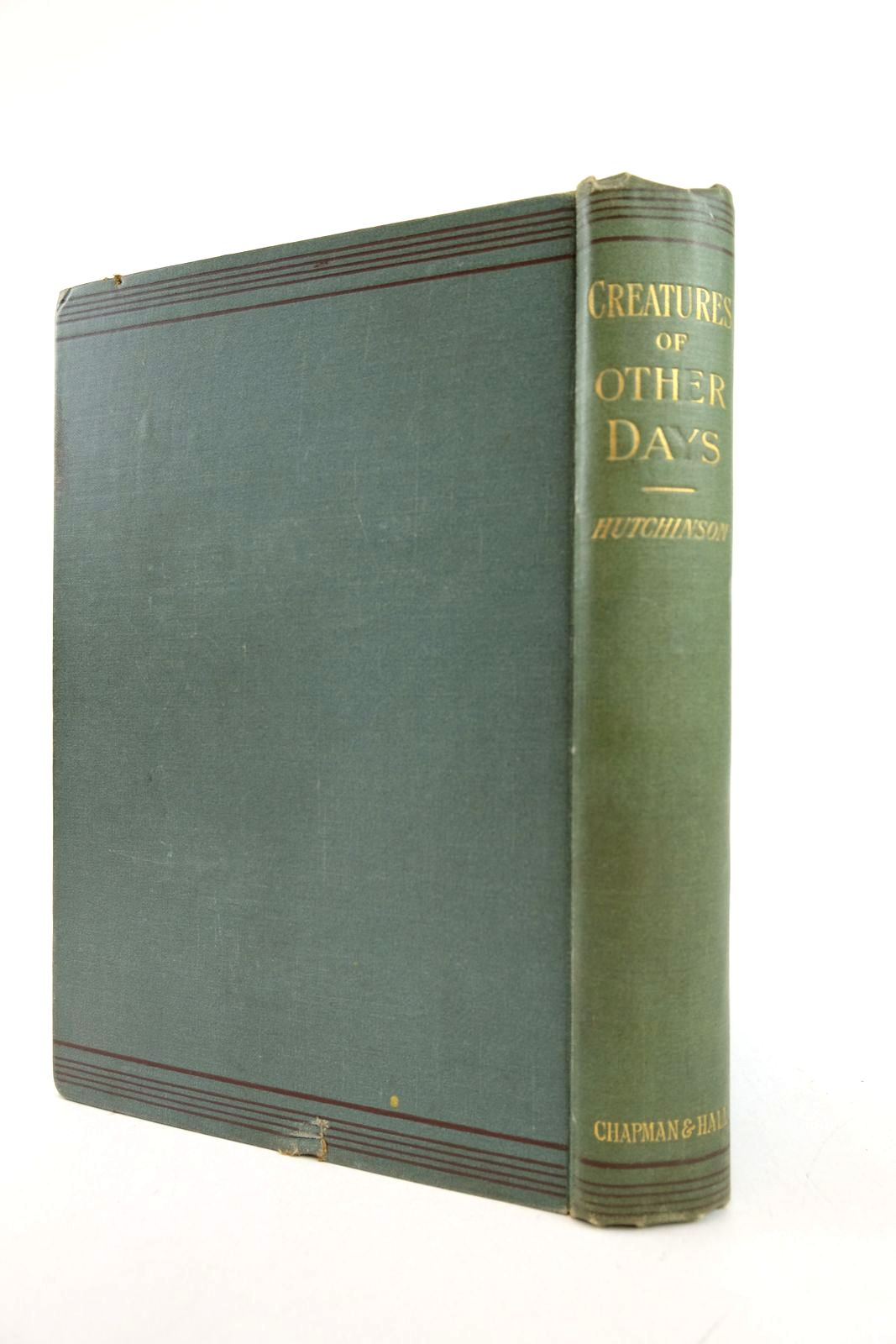 Photo of CREATURES OF OTHER DAYS written by Hutchinson, H.N. illustrated by Smit, J. et al., published by Chapman & Hall Ltd (STOCK CODE: 2133148)  for sale by Stella & Rose's Books