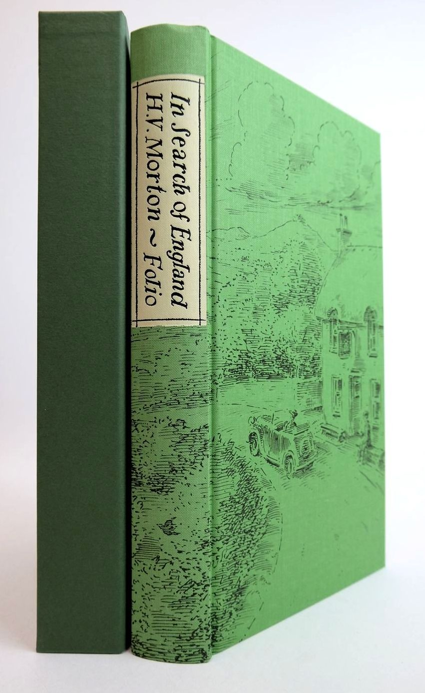 Photo of IN SEARCH OF ENGLAND written by Morton, H.V. illustrated by Bailey, Peter published by Folio Society (STOCK CODE: 2133157)  for sale by Stella & Rose's Books