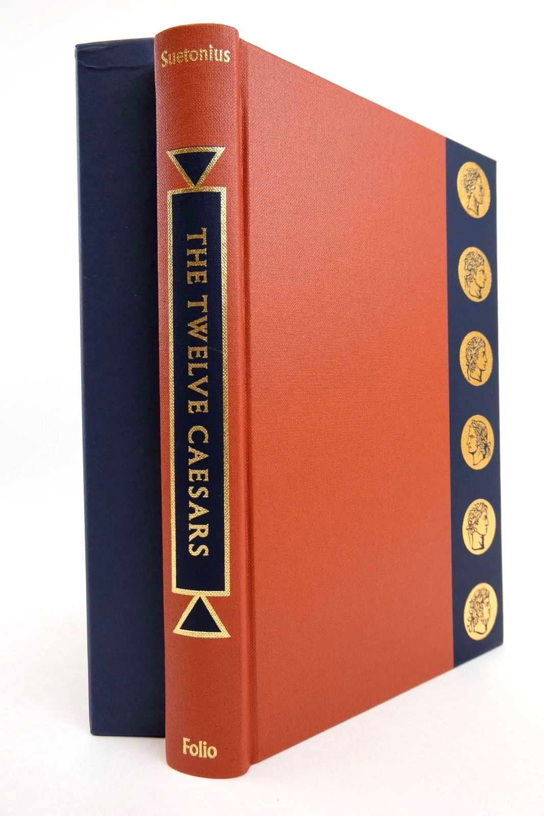 Photo of THE TWELVE CAESARS written by Tranquillus, Gaius Suetonius Graves, Robert illustrated by Hawthorn, Raymond published by Folio Society (STOCK CODE: 2133162)  for sale by Stella & Rose's Books