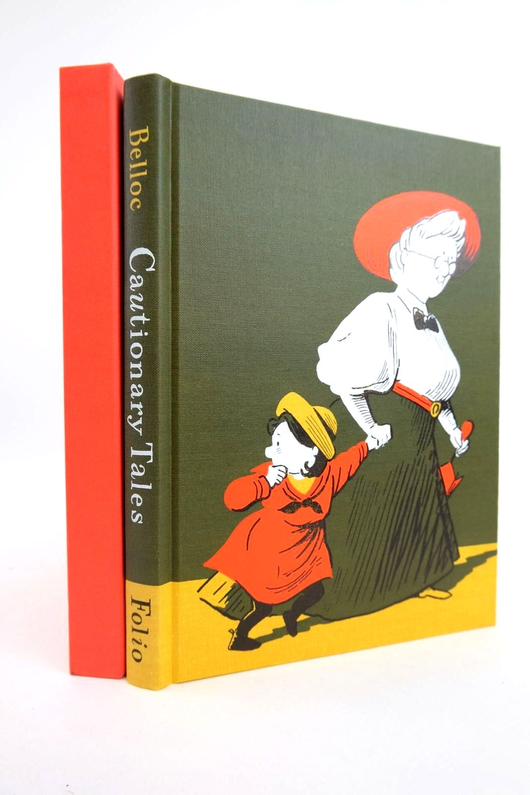 Photo of CAUTIONARY TALES AND OTHER VERSES written by Belloc, Hilaire illustrated by Simmonds, Posy published by Folio Society (STOCK CODE: 2133166)  for sale by Stella & Rose's Books
