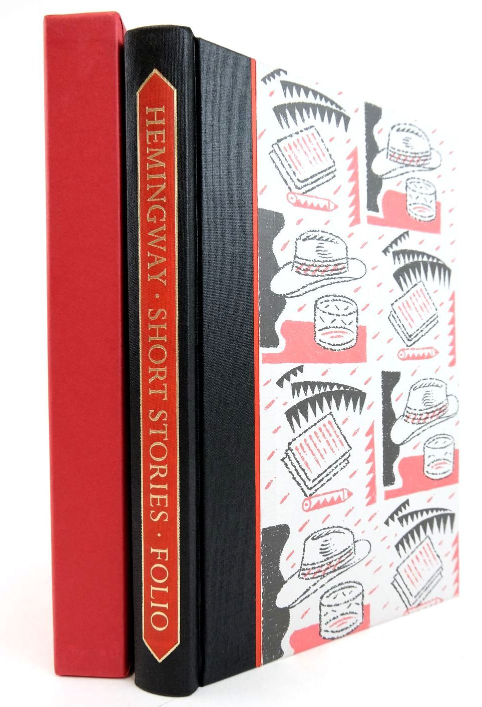 Photo of SHORT STORIES written by Hemingway, Ernest Hughes, David illustrated by Beck, Ian published by Folio Society (STOCK CODE: 2133171)  for sale by Stella & Rose's Books