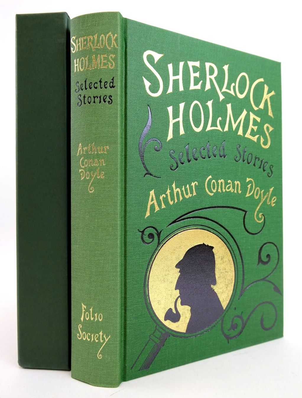 Photo of SHERLOCK HOLMES SELECTED STORIES written by Doyle, Arthur Conan Green, Richard Lancelyn illustrated by Mosley, Francis published by Folio Society (STOCK CODE: 2133172)  for sale by Stella & Rose's Books