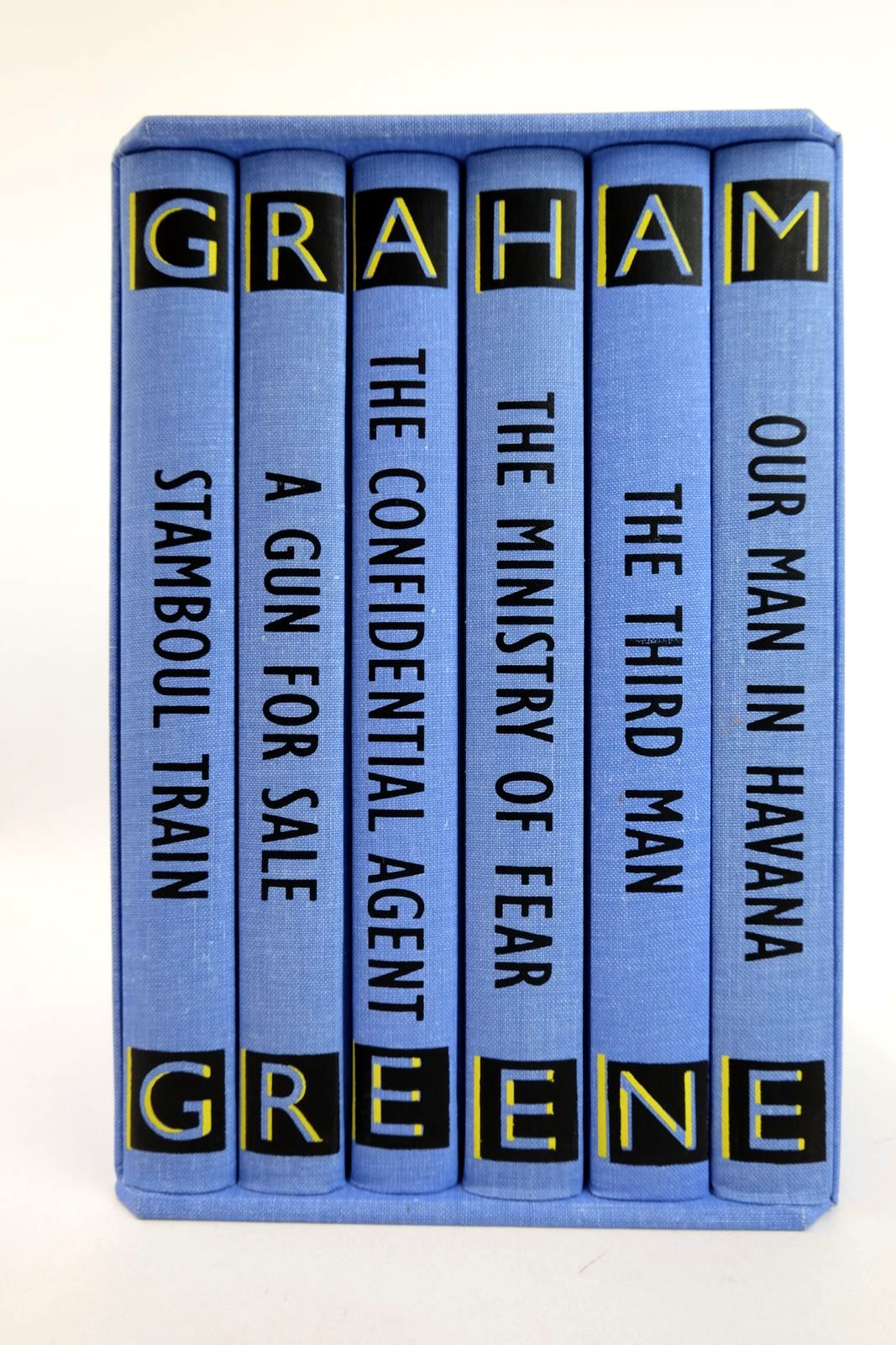 Photo of THE COMPLETE ENTERTAINMENTS (6 VOLUMES) written by Greene, Graham illustrated by Grandfield, Geoff published by Folio Society (STOCK CODE: 2133174)  for sale by Stella & Rose's Books