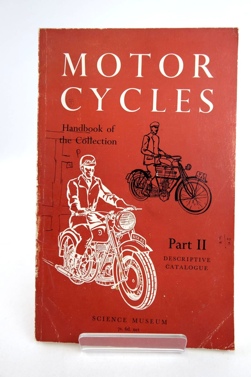 Photo of HANDBOOK OF THE COLLECTION ILLUSTRATING MOTORCYCLES PART II- Stock Number: 2133175