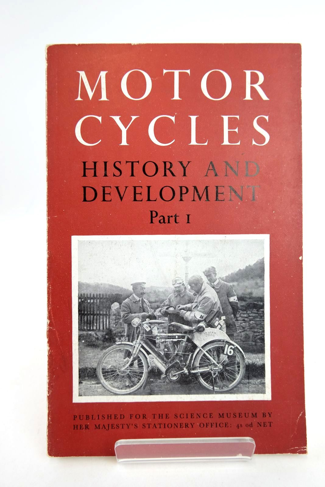 Photo of THE HISTORY AND DEVELOPMENT OF MOTORCYCLES PART I HISTORICAL SURVEY- Stock Number: 2133182