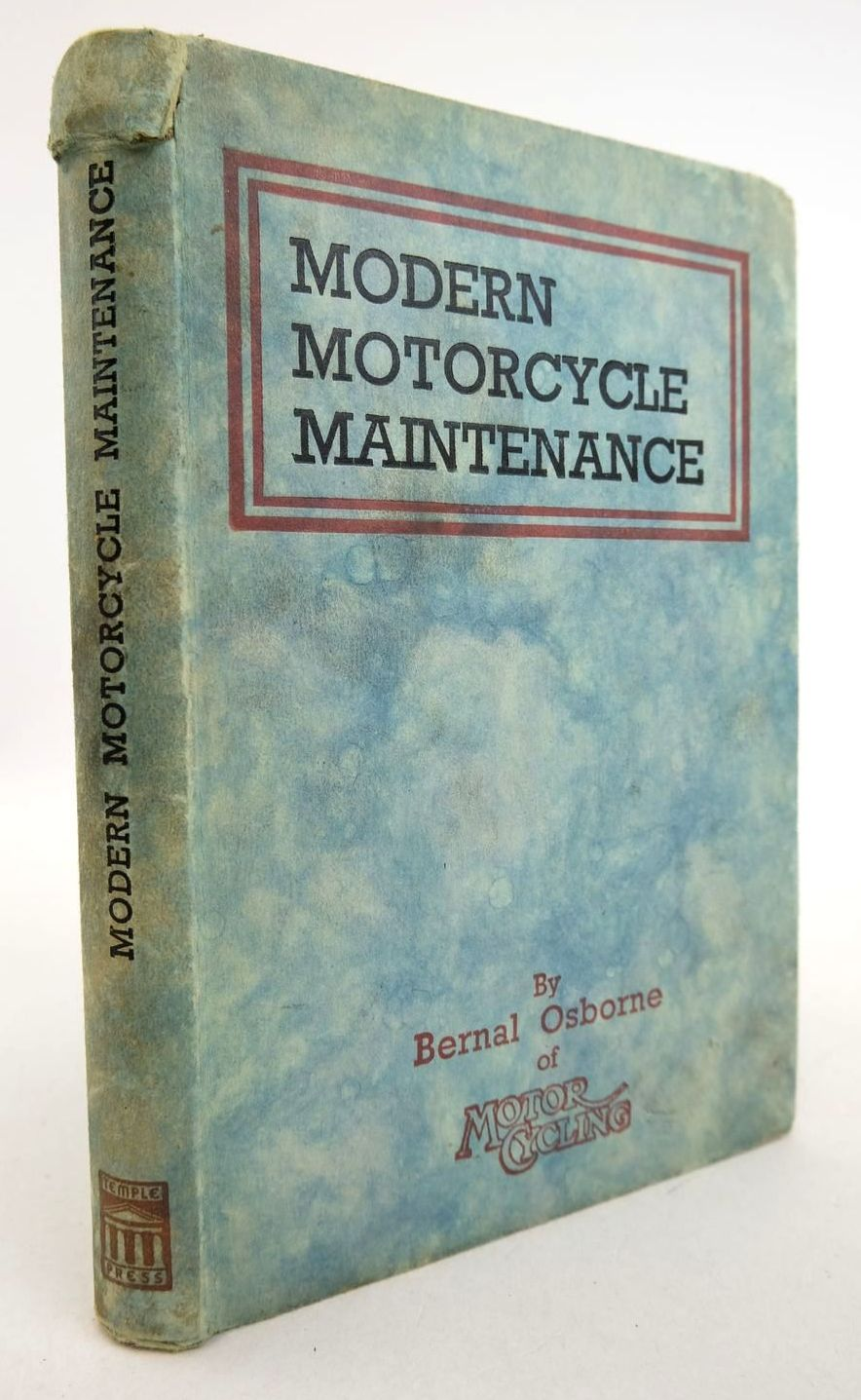 Photo of MODERN MOTOR CYCLE MAINTENANCE- Stock Number: 2133195