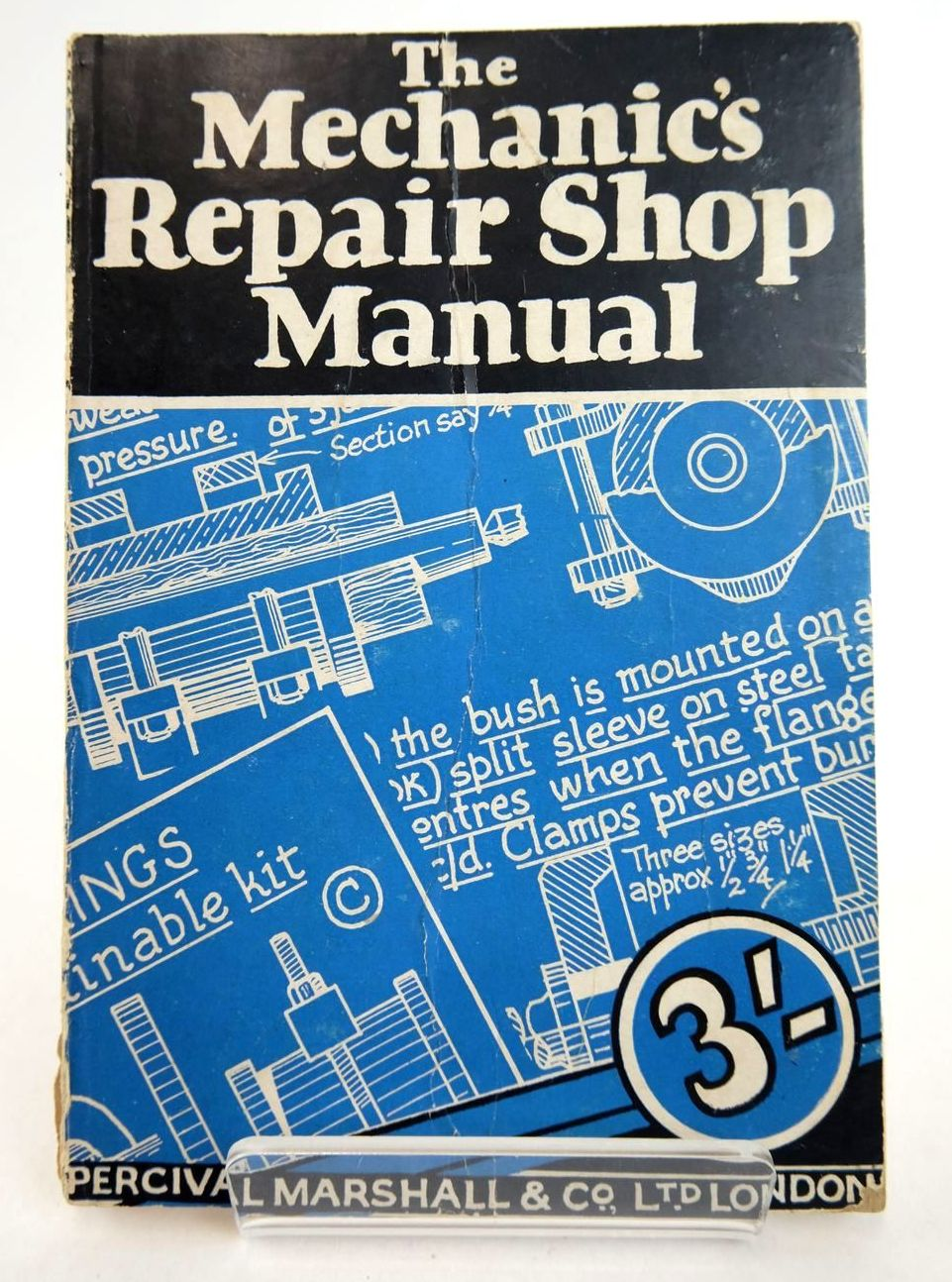 Photo of THE MECHANIC'S REPAIR-SHOP MANUAL written by Dyer, Herbert J. published by Percival Marshall And Co Ltd. (STOCK CODE: 2133196)  for sale by Stella & Rose's Books