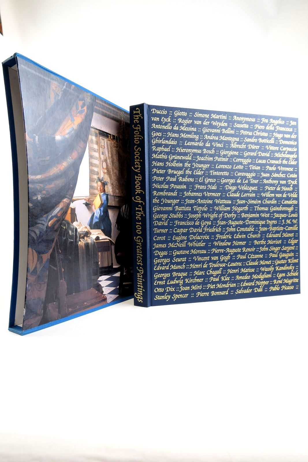 Photo of THE FOLIO SOCIETY BOOK OF THE 100 GREATEST PAINTINGS