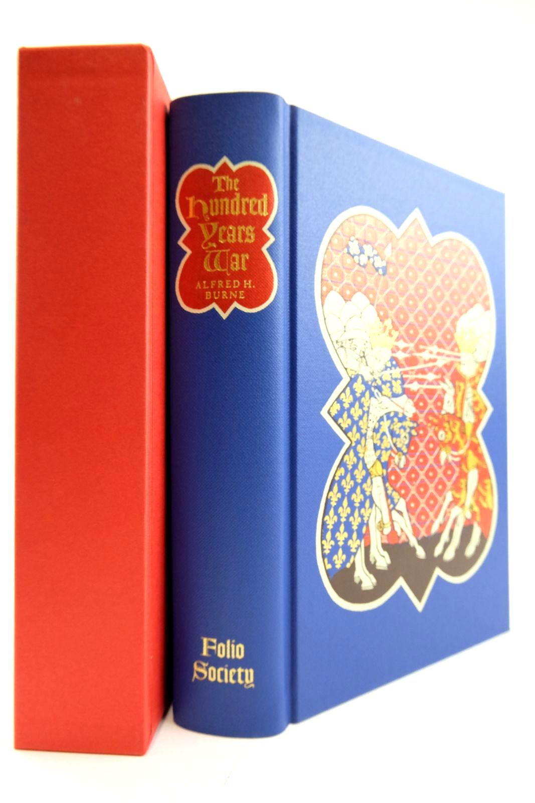 Photo of THE HUNDRED YEARS WAR written by Burne, Alfred H. Sumption, Jonathan published by Folio Society (STOCK CODE: 2133225)  for sale by Stella & Rose's Books