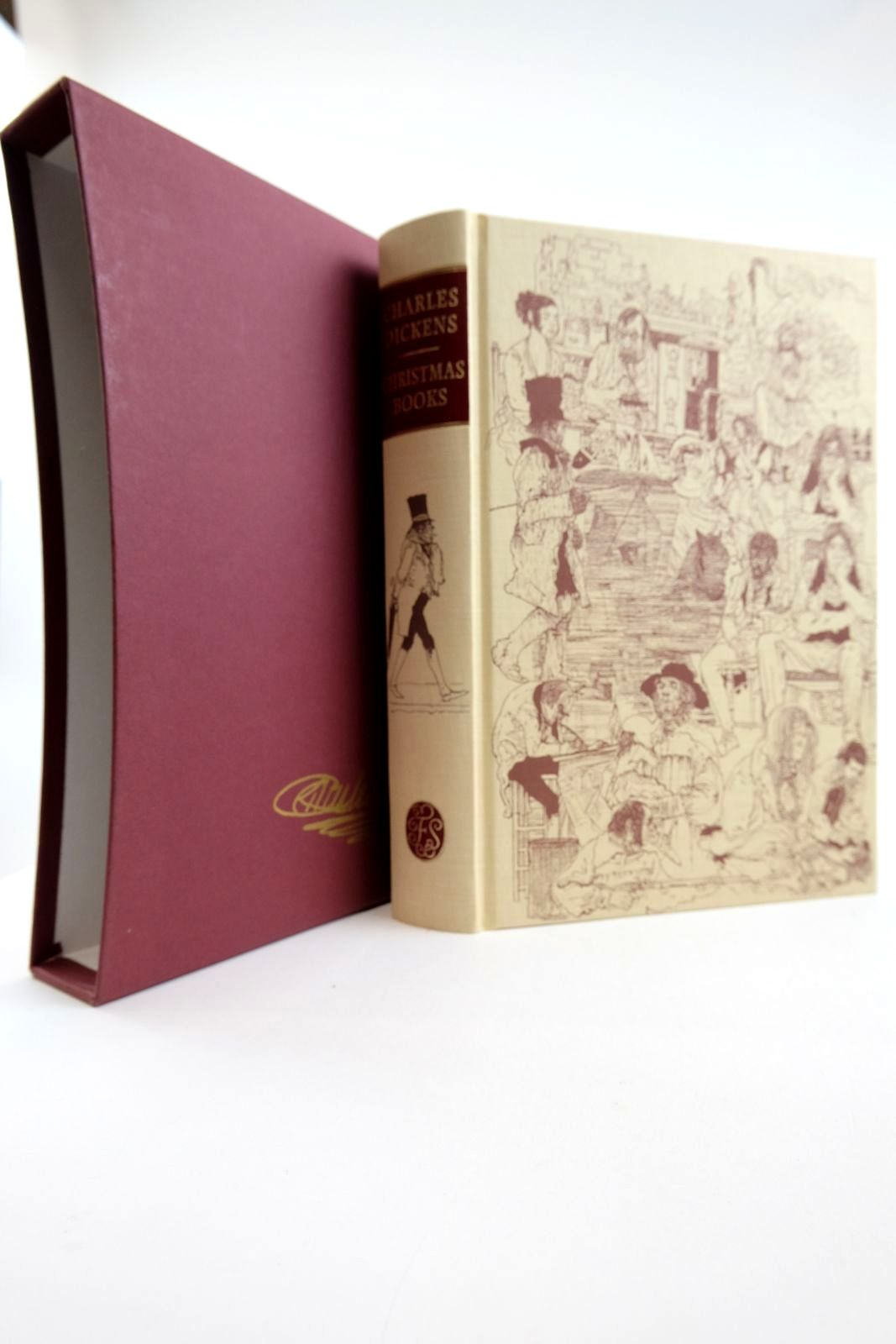 Photo of CHRISTMAS BOOKS written by Dickens, Charles Hibbert, Christopher illustrated by Keeping, Charles published by Folio Society (STOCK CODE: 2133235)  for sale by Stella & Rose's Books