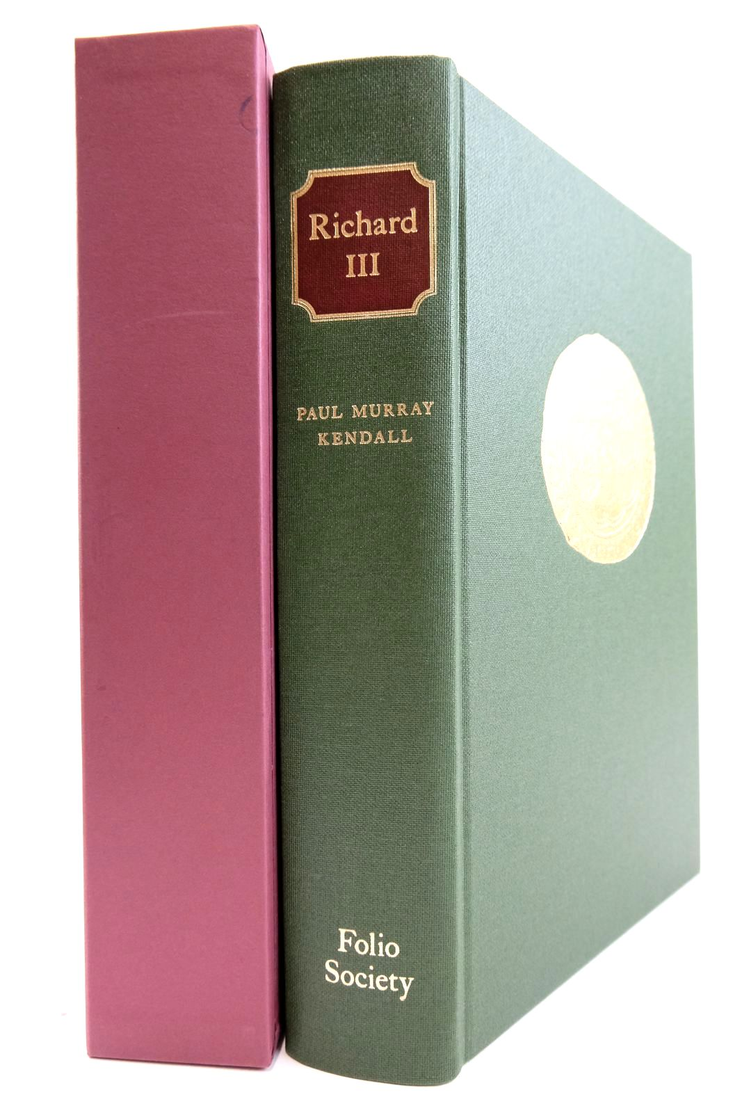 Photo of RICHARD III written by Kendall, Paul Murray published by Folio Society (STOCK CODE: 2133236)  for sale by Stella & Rose's Books