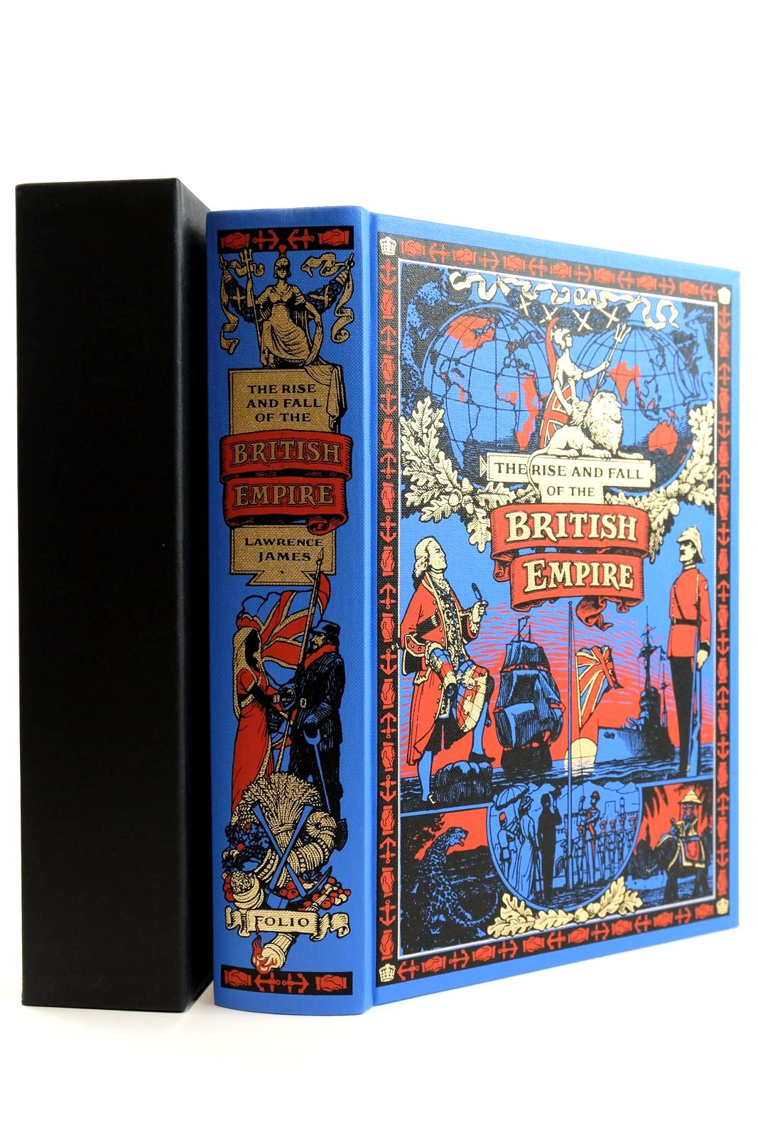 Photo of THE RISE AND FALL OF THE BRITISH EMPIRE written by James, Lawrence published by Folio Society (STOCK CODE: 2133245)  for sale by Stella & Rose's Books