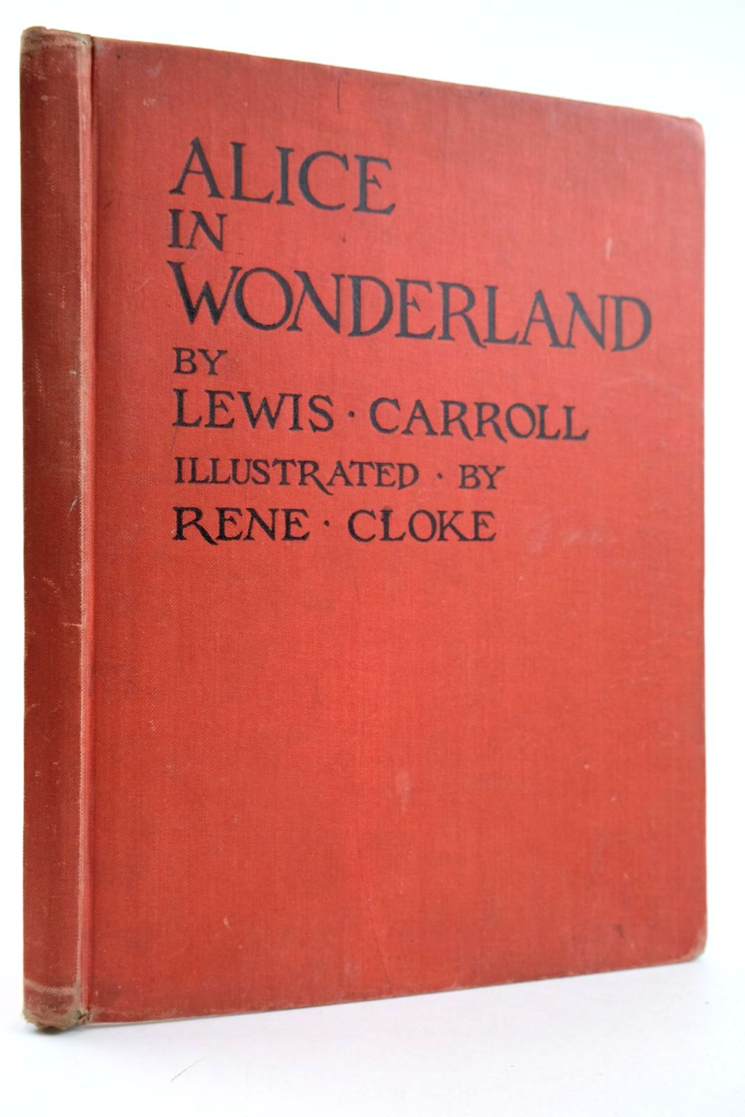 Photo of ALICE IN WONDERLAND written by Carroll, Lewis illustrated by Cloke, Rene published by P.R. Gawthorn Ltd. (STOCK CODE: 2133247)  for sale by Stella & Rose's Books