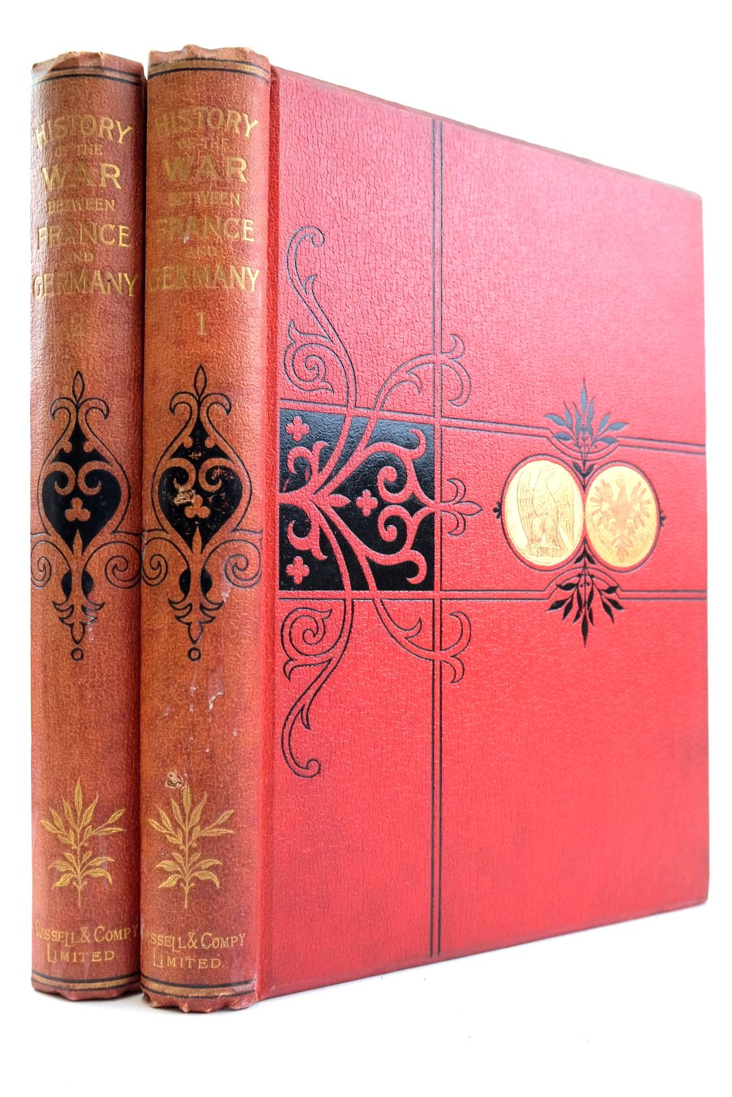 Photo of CASSELL'S HISTORY OF THE WAR BETWEEN FRANCE AND GERMANY 1870 - 1871 (2 VOLUMES) published by Cassell & Company Limited (STOCK CODE: 2133252)  for sale by Stella & Rose's Books