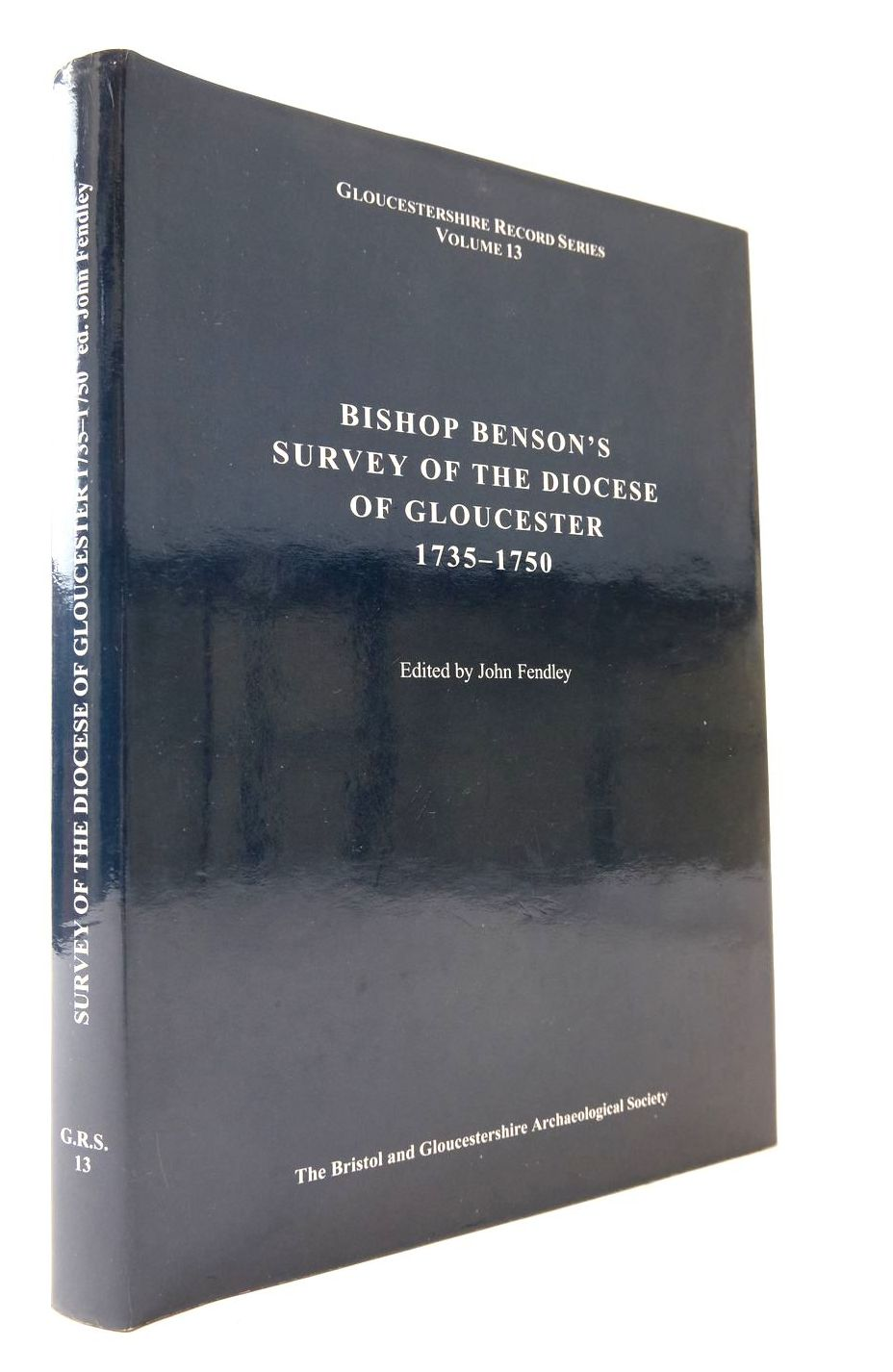 Photo of BISHOP BENSON'S SURVEY OF THE DIOCESE OF GLOUCESTER 1735-1750- Stock Number: 2133263