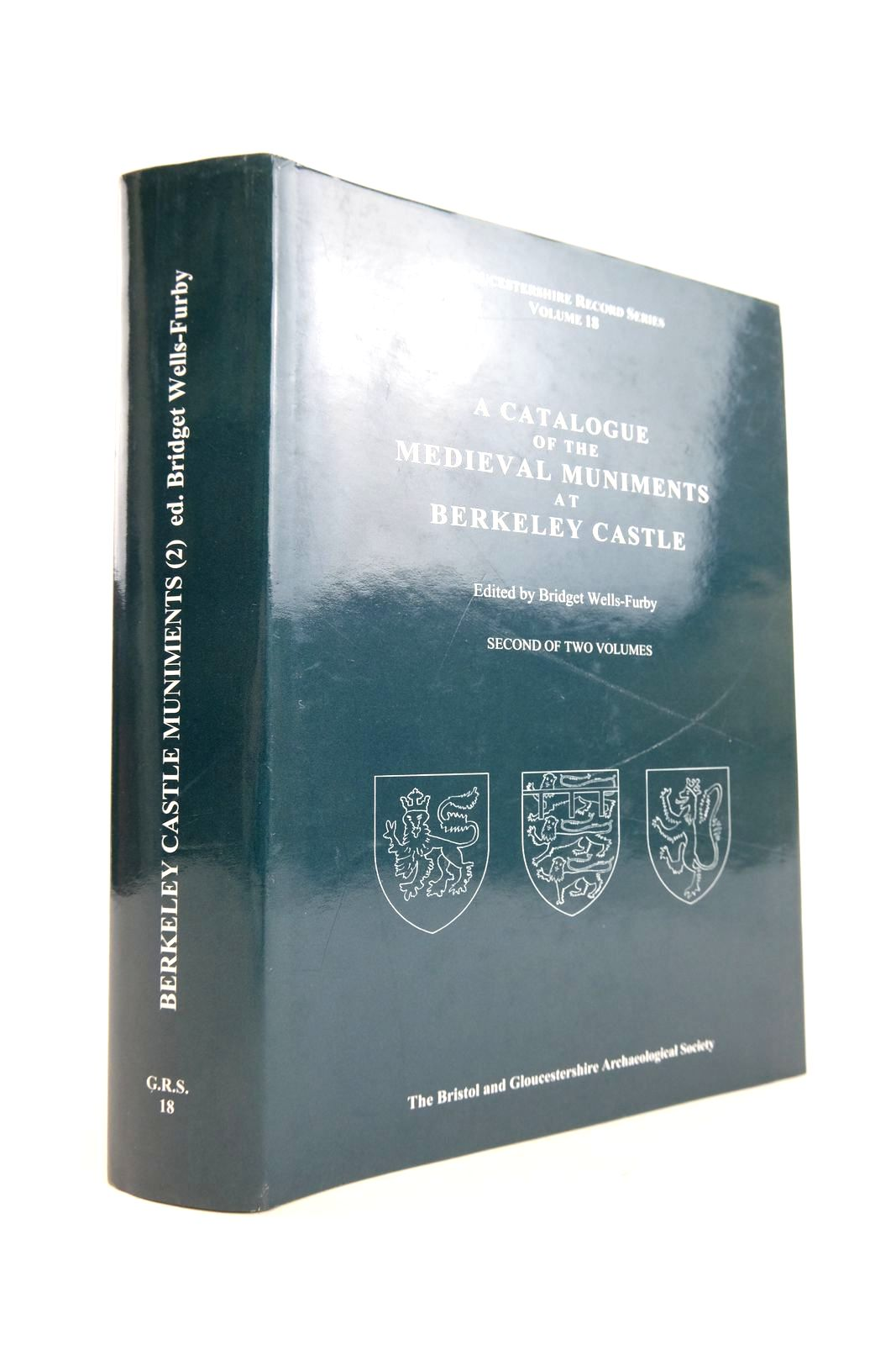Photo of A CATALOGUE OF THE MEDIEVAL MUNIMENTS AT BERKLEY CASTLE- Stock Number: 2133267