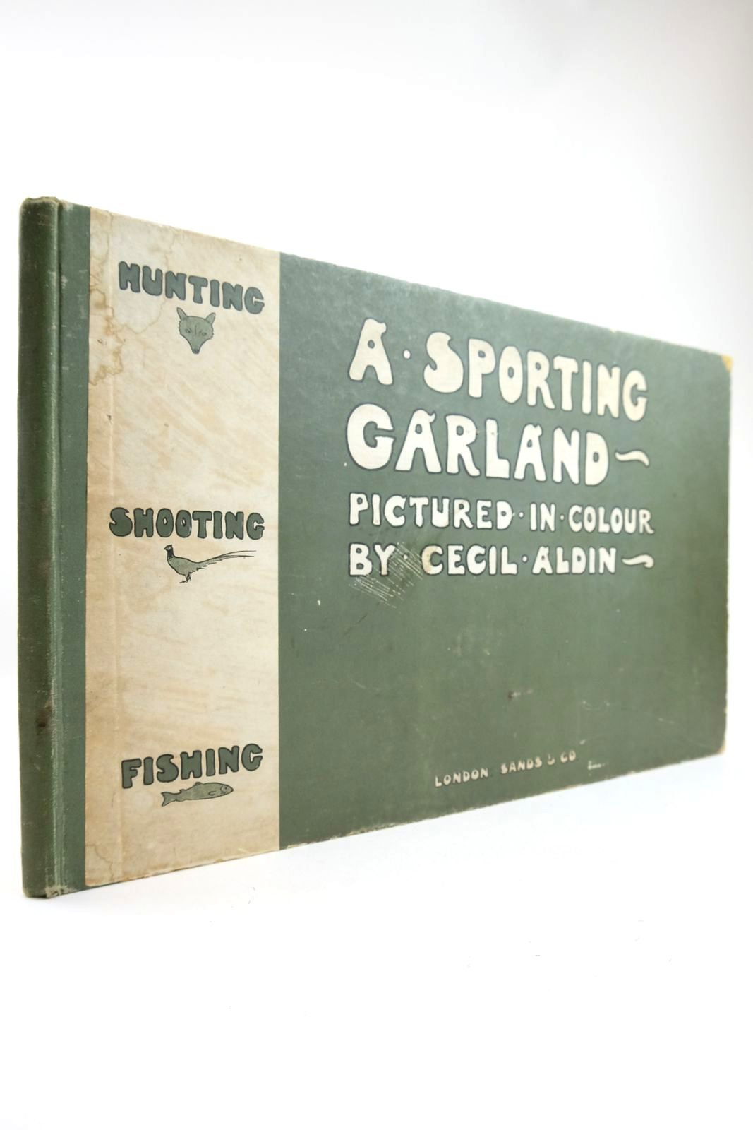 Photo of A SPORTING GARLAND illustrated by Aldin, Cecil published by Sands & Co. (STOCK CODE: 2133296)  for sale by Stella & Rose's Books