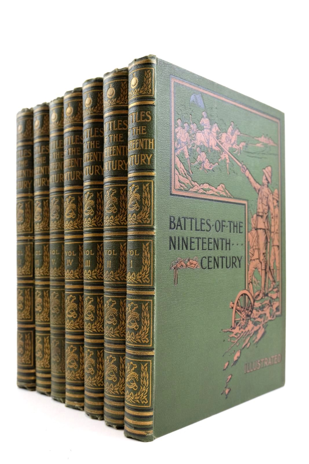 Photo of BATTLES OF THE NINETEENTH CENTURY (7 VOLUMES)- Stock Number: 2133298