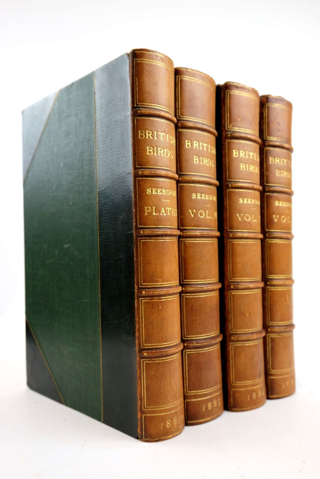 Photo of A HISTORY OF BRITISH BIRDS (4  VOLUMES) written by Seebohm, Henry published by R.H. Porter, Dulau & Co. (STOCK CODE: 2133308)  for sale by Stella & Rose's Books