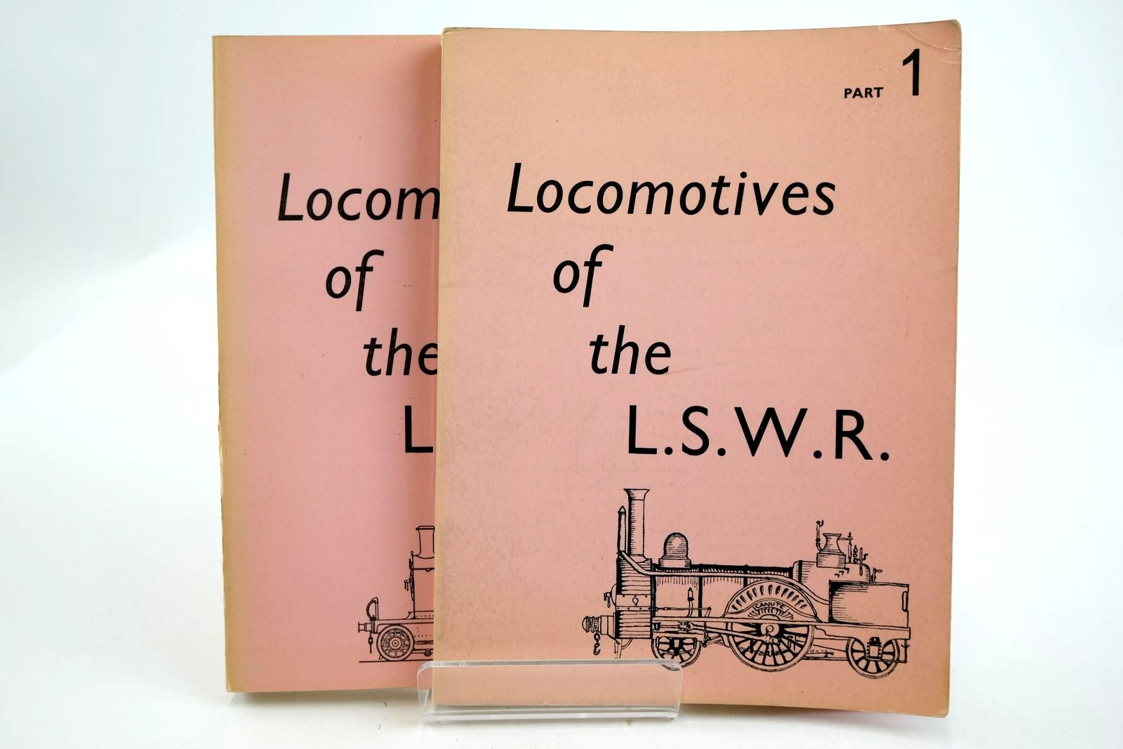 Photo of LOCOMOTIVES OF THE LONDON AND SOUTH WESTERN RAILWAY (2 VOLUMES)- Stock Number: 2133331