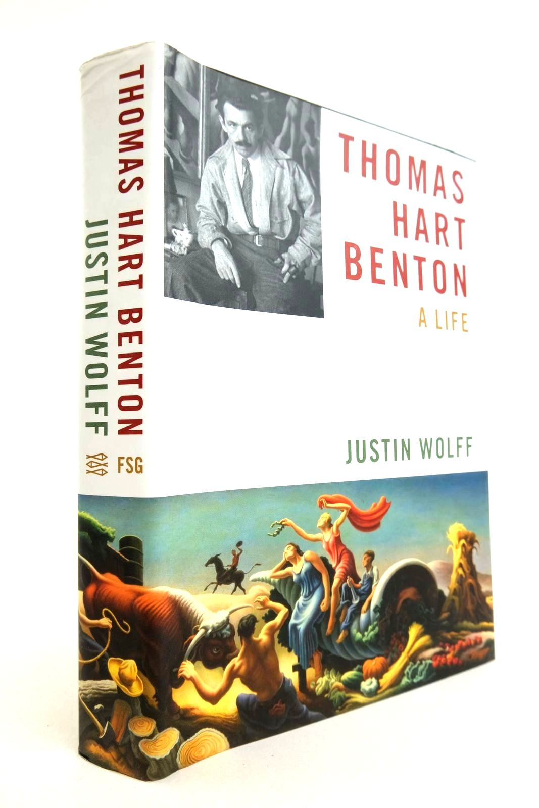 Photo of THOMAS HART BENTON A LIFE written by Wolff, Justin published by Farrar, Straus & Giroux (STOCK CODE: 2133332)  for sale by Stella & Rose's Books