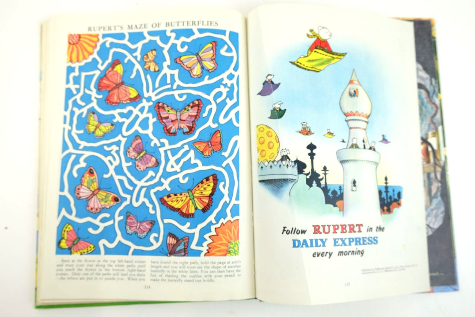 Photo of RUPERT ANNUAL 1961 written by Bestall, Alfred illustrated by Bestall, Alfred published by Daily Express (STOCK CODE: 2133348)  for sale by Stella & Rose's Books