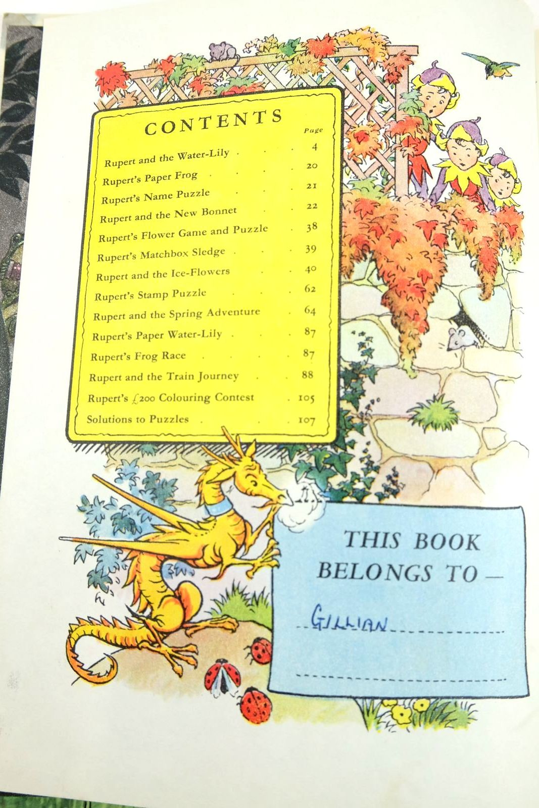Photo of RUPERT ANNUAL 1958 written by Bestall, Alfred illustrated by Bestall, Alfred published by Daily Express (STOCK CODE: 2133349)  for sale by Stella & Rose's Books