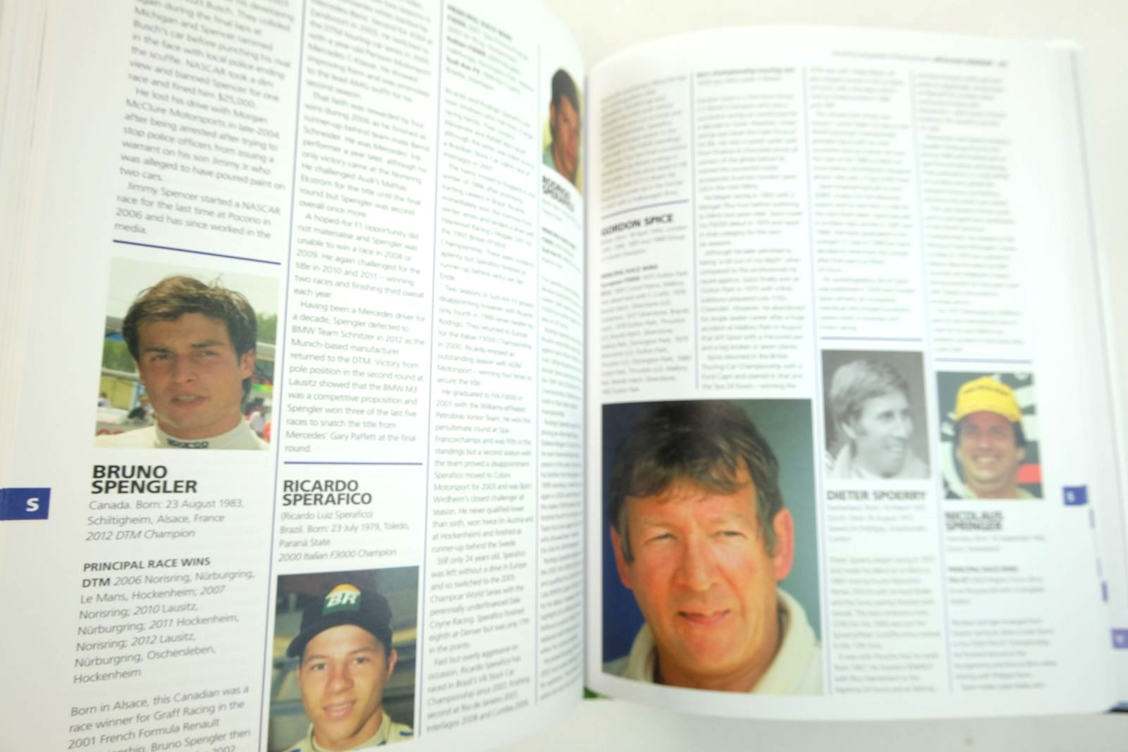 Photo of WORLD ENCYCLOPAEDIA OF RACING DRIVERS (3 VOLUMES) written by Higham, Peter published by Haynes Publishing (STOCK CODE: 2133360)  for sale by Stella & Rose's Books