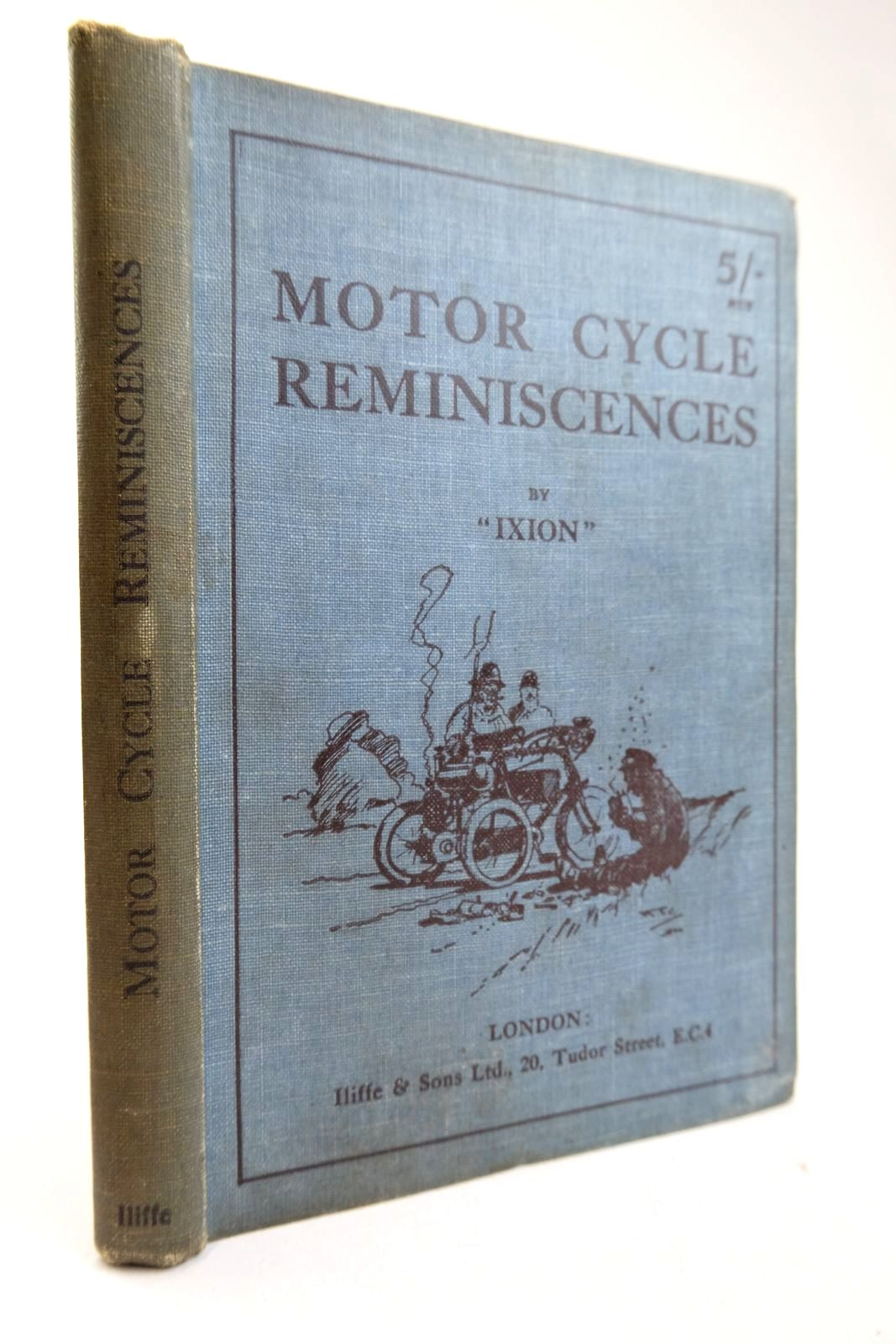 Photo of MOTOR CYCLE REMINISCENCES- Stock Number: 2133362