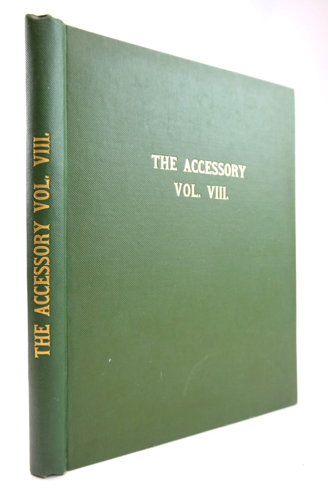 Photo of THE ACCESSORY VOL. VIII- Stock Number: 2133369